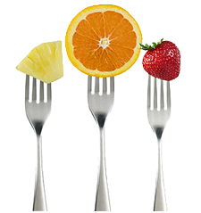 fruits-forks
